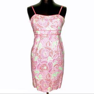 NEW! Vineyard Vines Mosaic Floral Cotton Dress